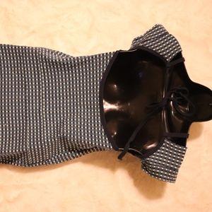 Marc By Marc Jacobs Dresses - Marc Jacobs   blue plaid cotton open back dress